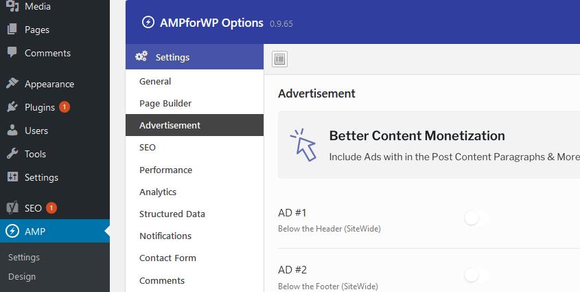 Pasang iklan AdSense AMP