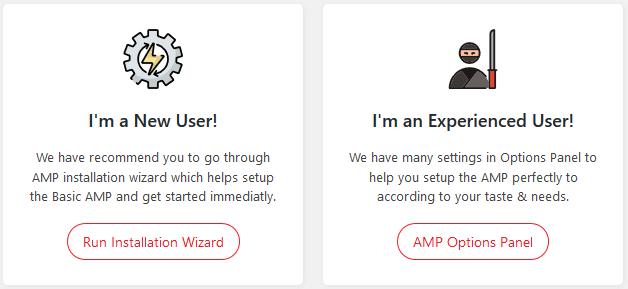 AMP Installation Wizard