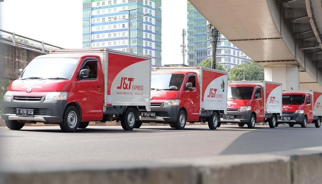 Jam mengantarkan barang J&T Express