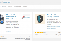 Plugin anti copy paste WordPress