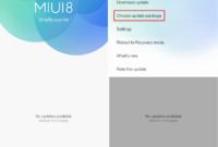 Cara Install MIUI 9
