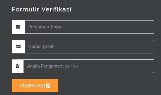 Chek Ijazah Online