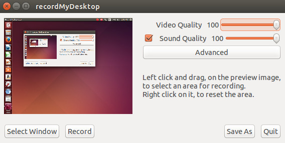 Software Screen Recorder Linux