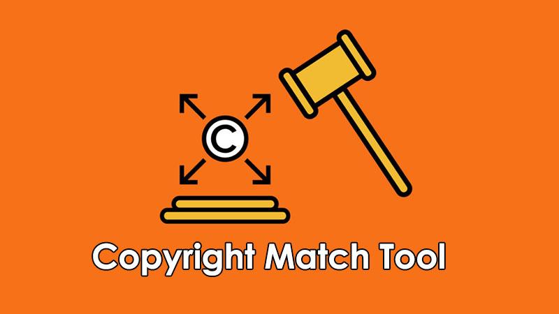 Copyright Match Tool YouTube